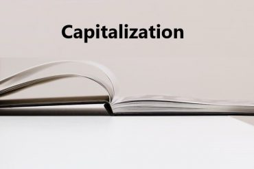 capitalization in English